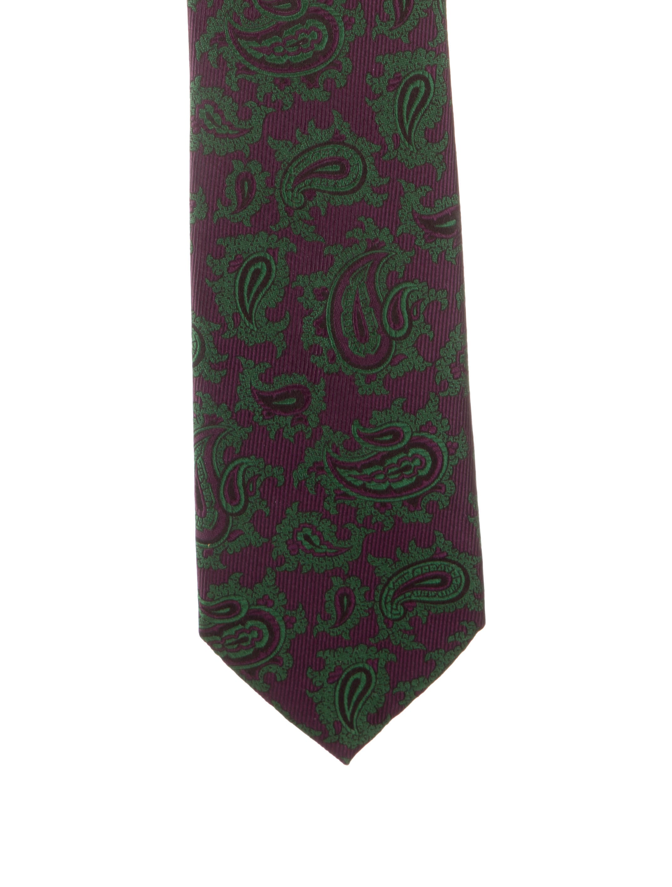 9fb9d12f88a6 Brioni Silk Paisley Tie - Suiting Accessories - BRO27308 | The RealReal