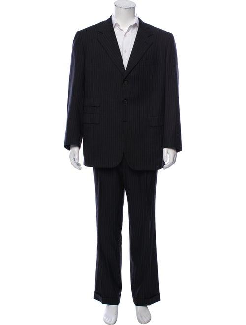Brioni Wool-Blend Two-Piece Suit black