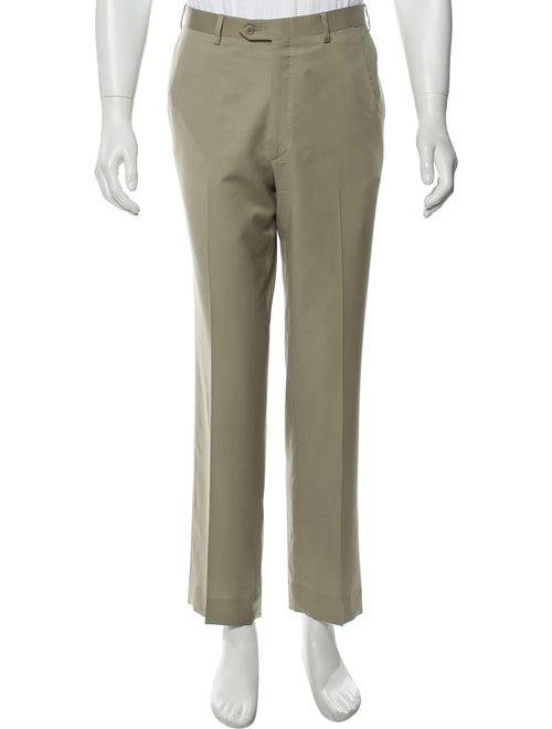 Brioni Wool Dress Pants khaki