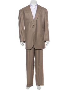 Brioni Wool Striped Two-Piece Suit