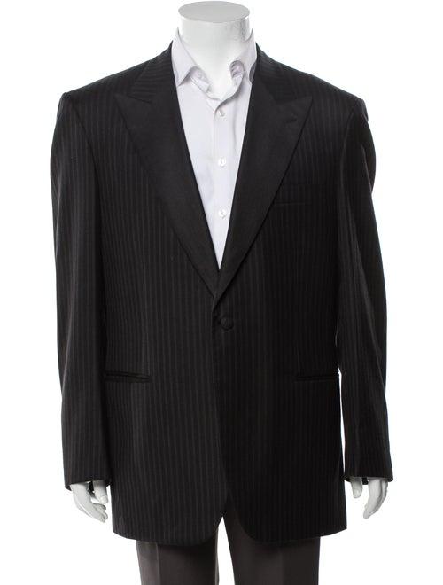 Brioni Tuxedo Jacket Virgin Wool Two-Piece Tuxedo