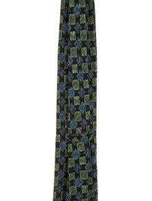 Brioni Silk Abstract Tie