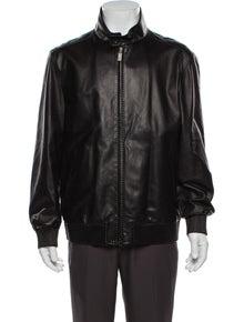 Brioni Lamb Leather Jacket