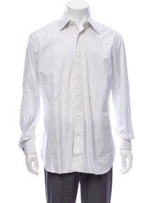 Brioni Striped Long Sleeve Dress Shirt w/ Tags