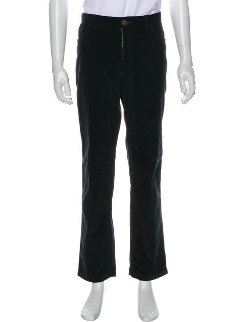 Brioni Corduroy Pants Black
