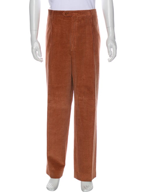Brioni Corduroy Pants Red - image 1