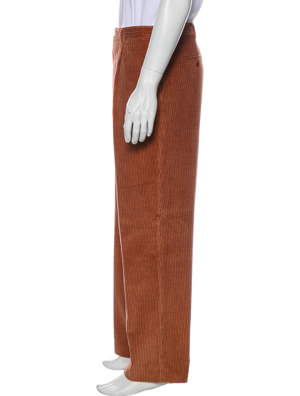 Brioni Corduroy Pants Red - image 2