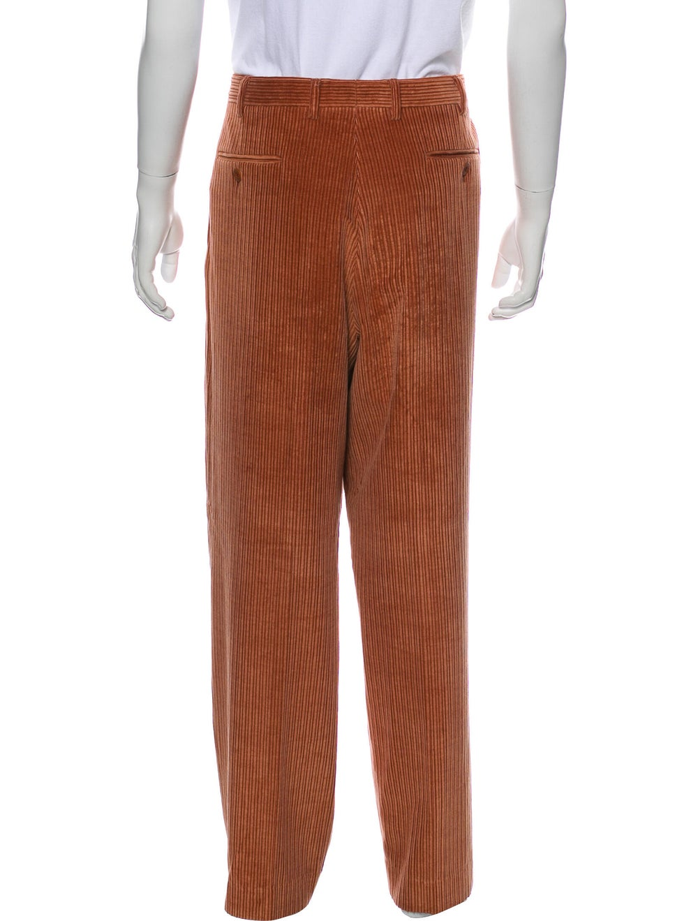 Brioni Corduroy Pants Red - image 3