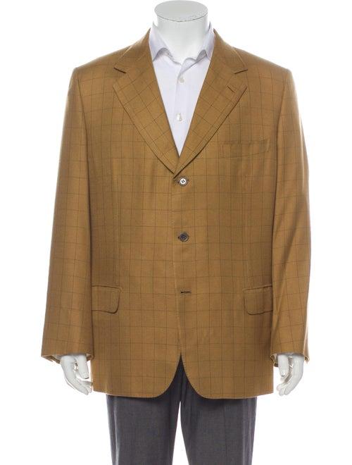 Brioni Silk Striped Blazer