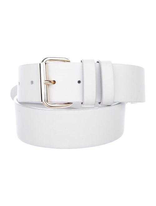 Brioni Leather Hip Belt gold