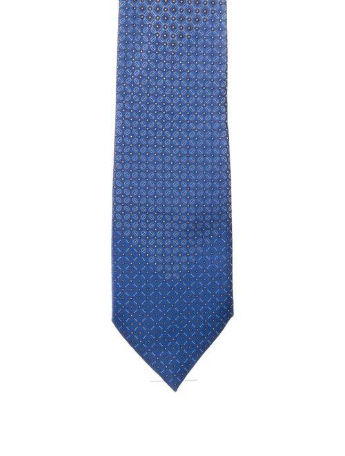 Brioni Silk Tie blue