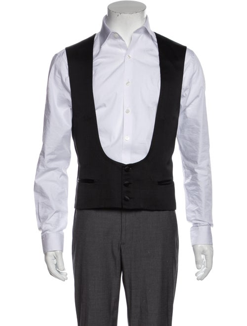 Brioni Suit Vest Black