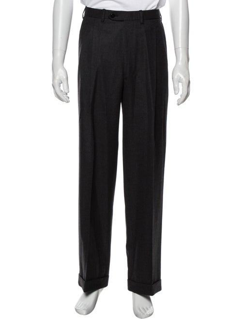 Brioni Wool Dress Pants Wool