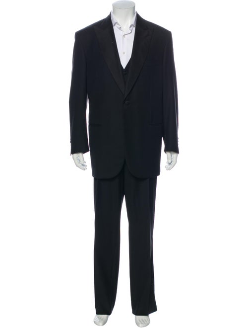 Brioni Wool Three-Piece Suit Wool