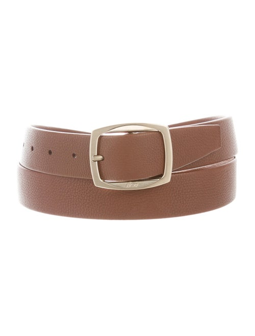 Brioni Leather Belt Brown
