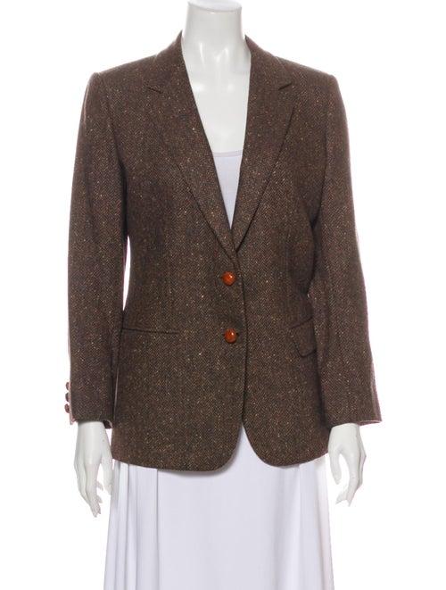 Brioni Vintage Wool Blazer Wool