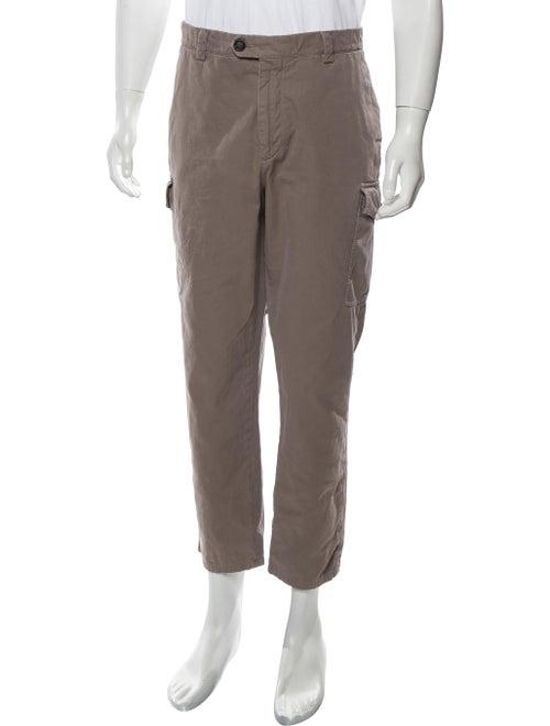 Brunello Cucinelli Woven Cargo Pants