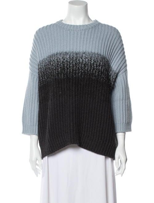 Brunello Cucinelli Cashmere Tie-Dye Print Sweater