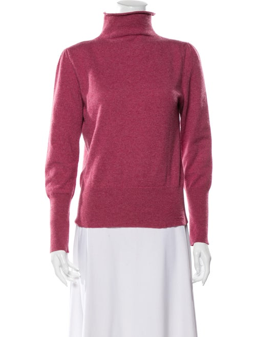 Brunello Cucinelli Cashmere Turtleneck Sweater Pin