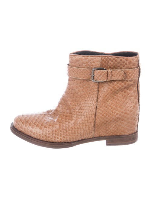 Brunello Cucinelli Snakeskin Boots