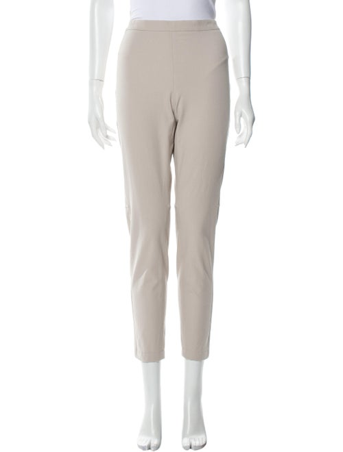 Brunello Cucinelli Side Zip Straight Leg Pants
