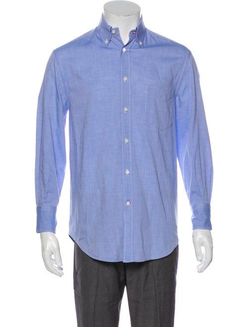 Brunello Cucinelli Long Sleeve Denim Shirt Denim