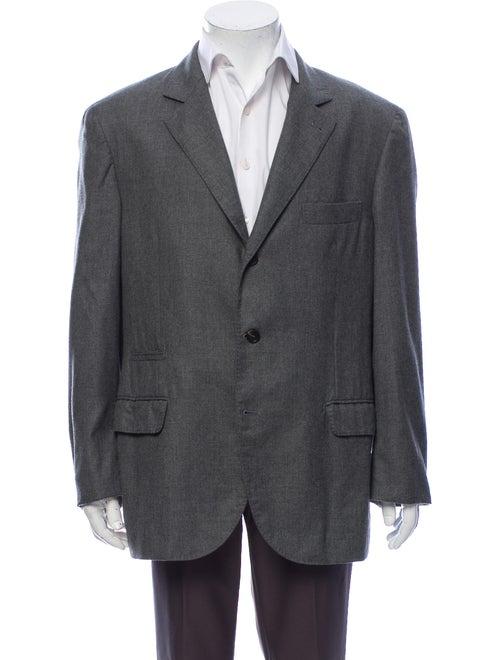 Brunello Cucinelli Cashmere Blazer Grey