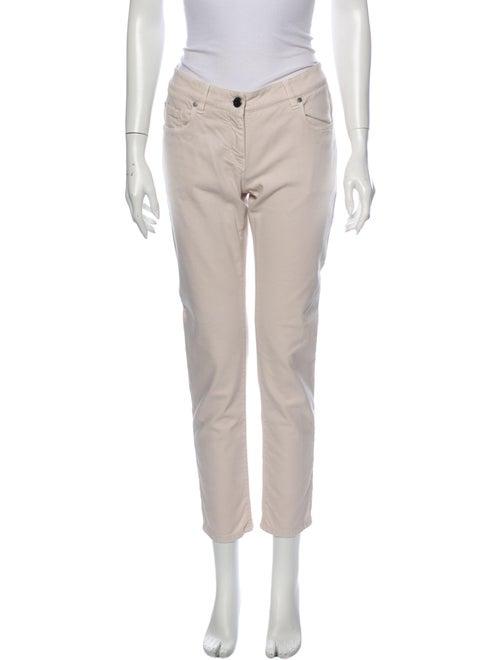 Brunello Cucinelli Low-Rise Straight Leg Jeans