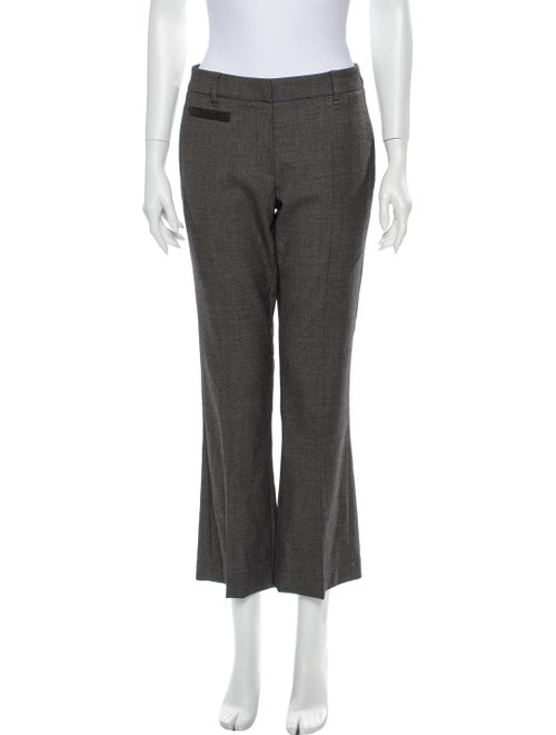 Brunello Cucinelli Flared Pants Grey