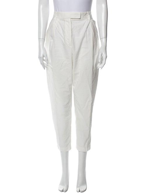 Brunello Cucinelli Straight Leg Pants White