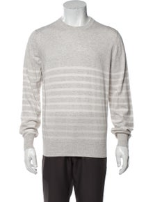 Brunello Cucinelli Crew Neck Long Sleeve Pullover