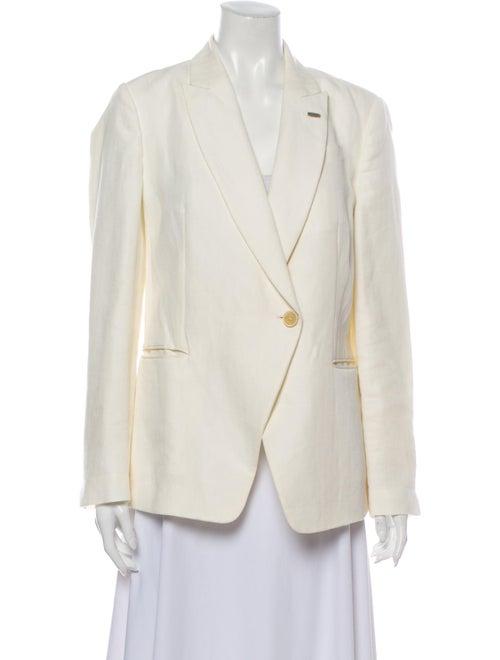 Brunello Cucinelli Linen Blazer White