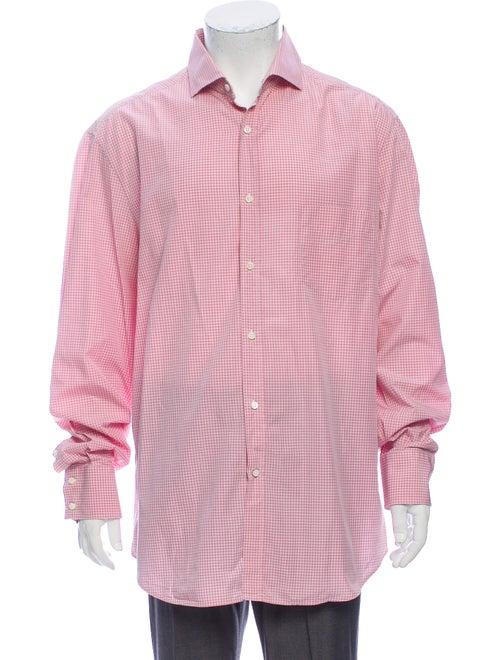 Brunello Cucinelli Plaid Print Long Sleeve Dress S