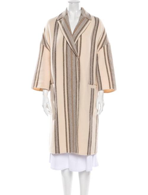 Brunello Cucinelli Striped Coat