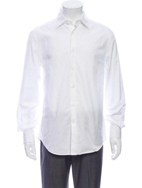 Brunello Cucinelli Long Sleeve Dress Shirt White
