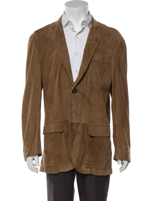 Brunello Cucinelli Leather Sport Coat