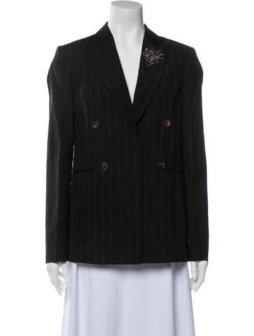Brunello Cucinelli Wool Striped Blazer w/ Tags Woo