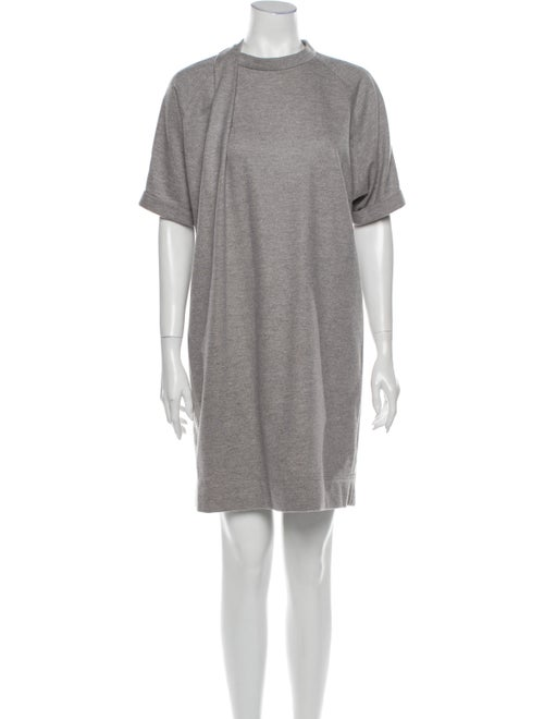 Brunello Cucinelli Wool Mini Dress Wool