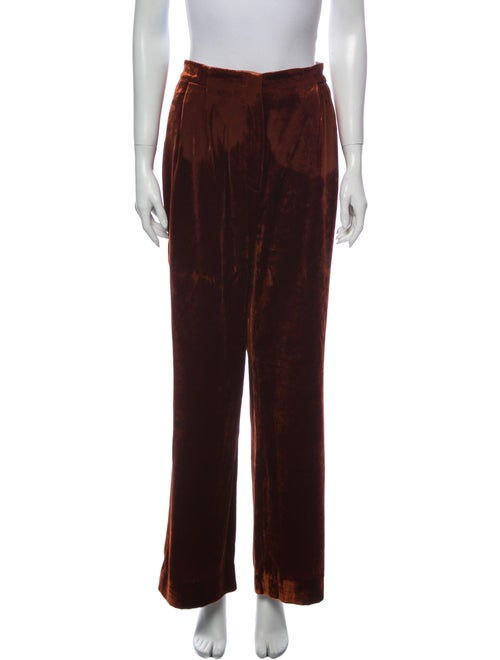 Brunello Cucinelli Wide Leg Pants Orange