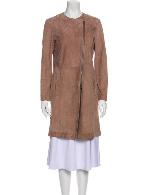 Brunello Cucinelli Leather Coat