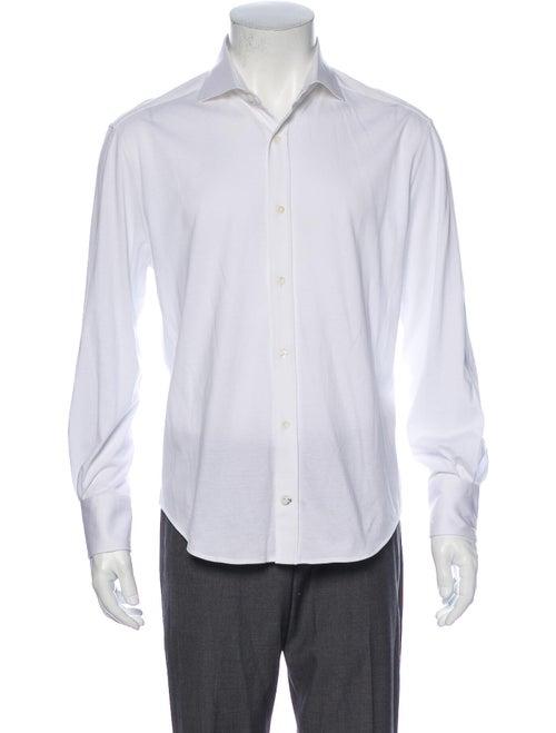 Brunello Cucinelli Long Sleeve Shirt White