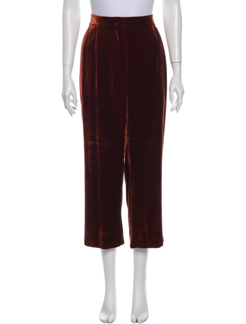 Brunello Cucinelli Wide Leg Pants Orange