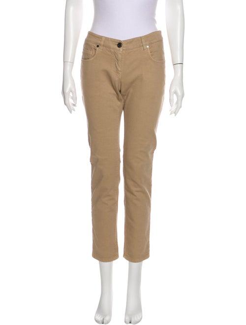Brunello Cucinelli Mid-Rise Straight Leg Jeans