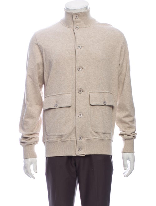 Brunello Cucinelli Turtleneck Long Sleeve Cardigan