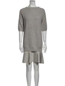 Brunello Cucinelli Cashmere Knee-Length Dress