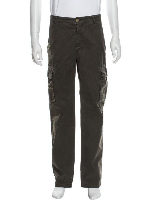 Brunello Cucinelli Cargo Pants Green - image 1