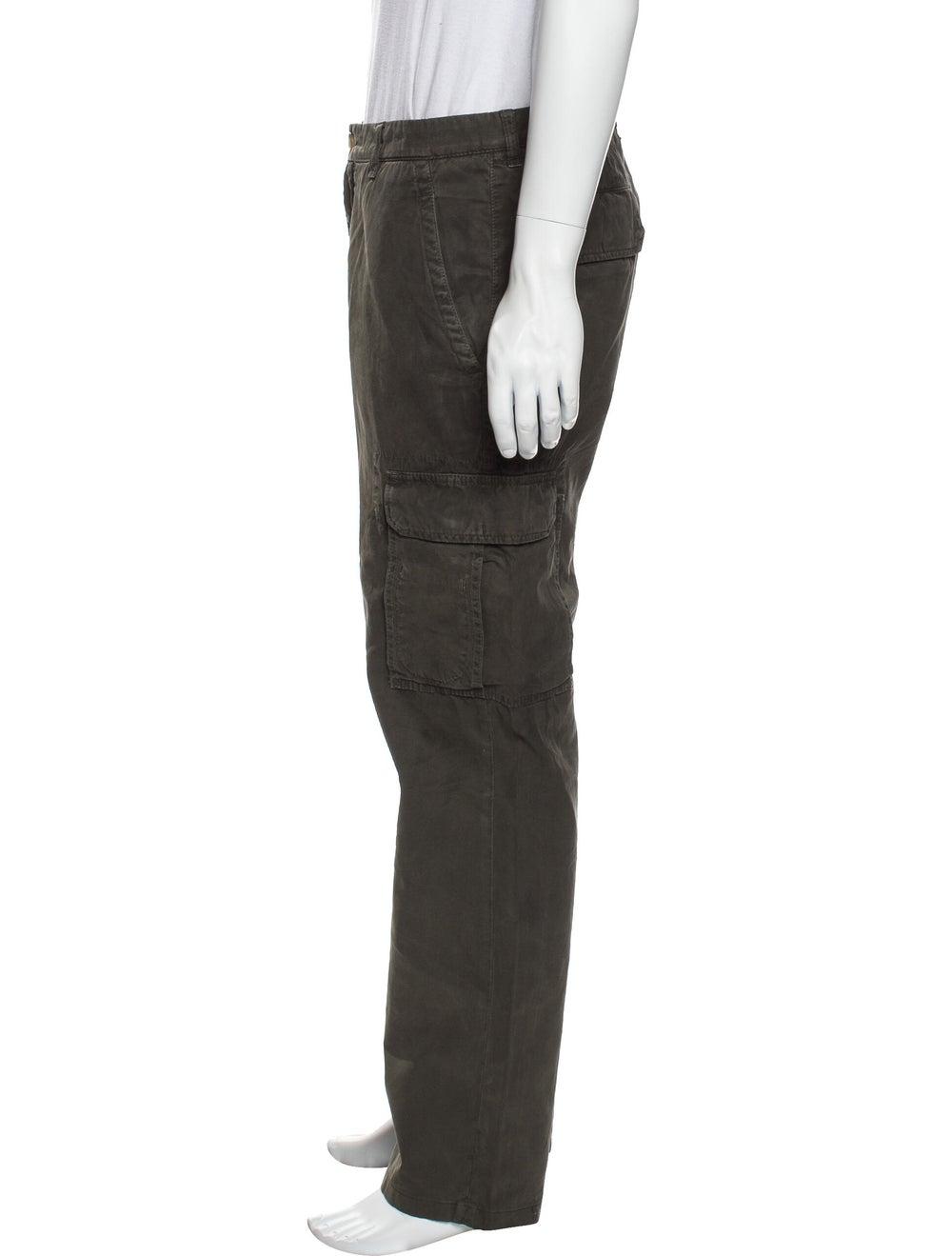 Brunello Cucinelli Cargo Pants Green - image 2