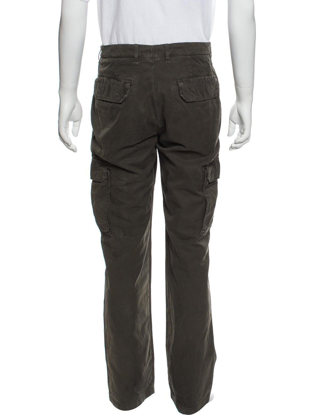 Brunello Cucinelli Cargo Pants Green - image 3