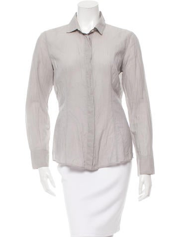 Brunello Cucinelli Button-Up Top None