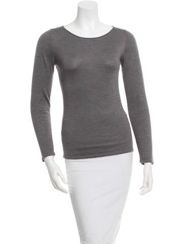 Brunello Cucinelli Crew Neck Cashmere Top None
